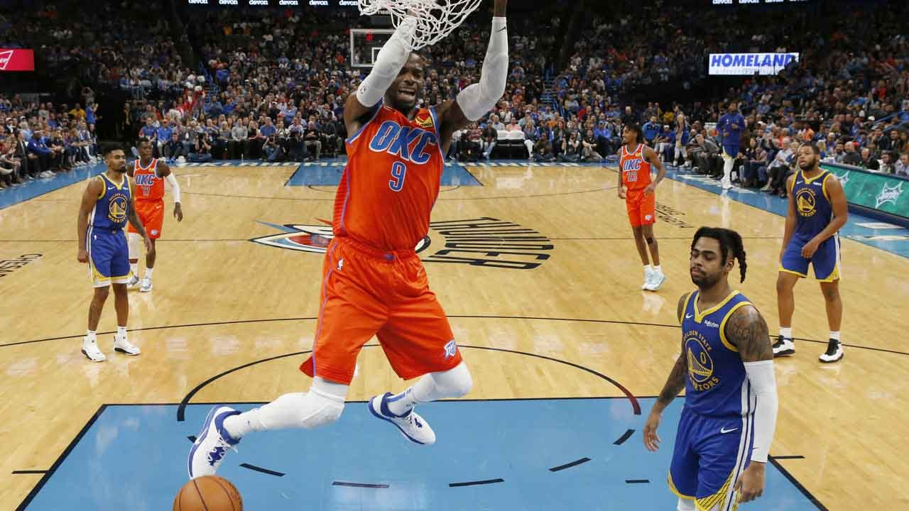 Schroder Leads Thunder Past Warriors, 120-92