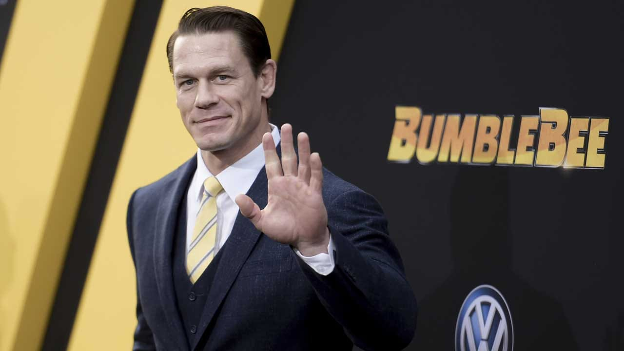 John Cena Donates $500,000 To Help First Responders Fighting California Wildfires
