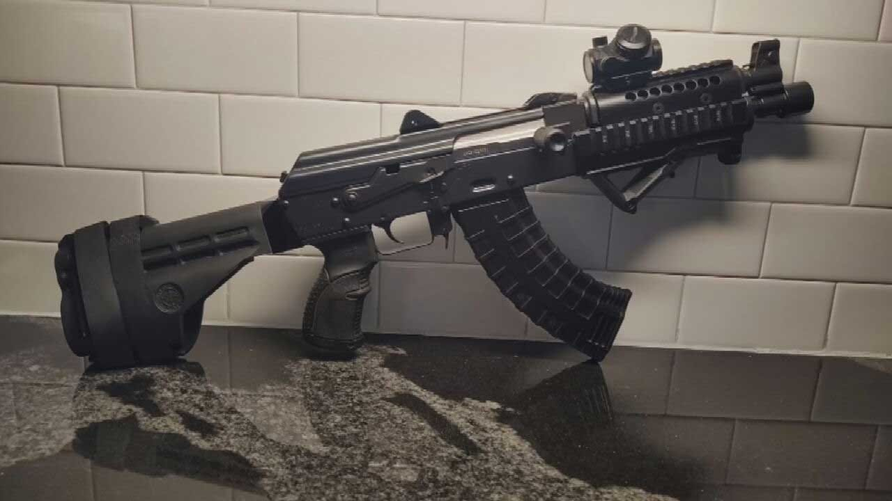 Police Search For Burglary Suspect After Custom AK-47, Ammo Stolen From SW OKC Home