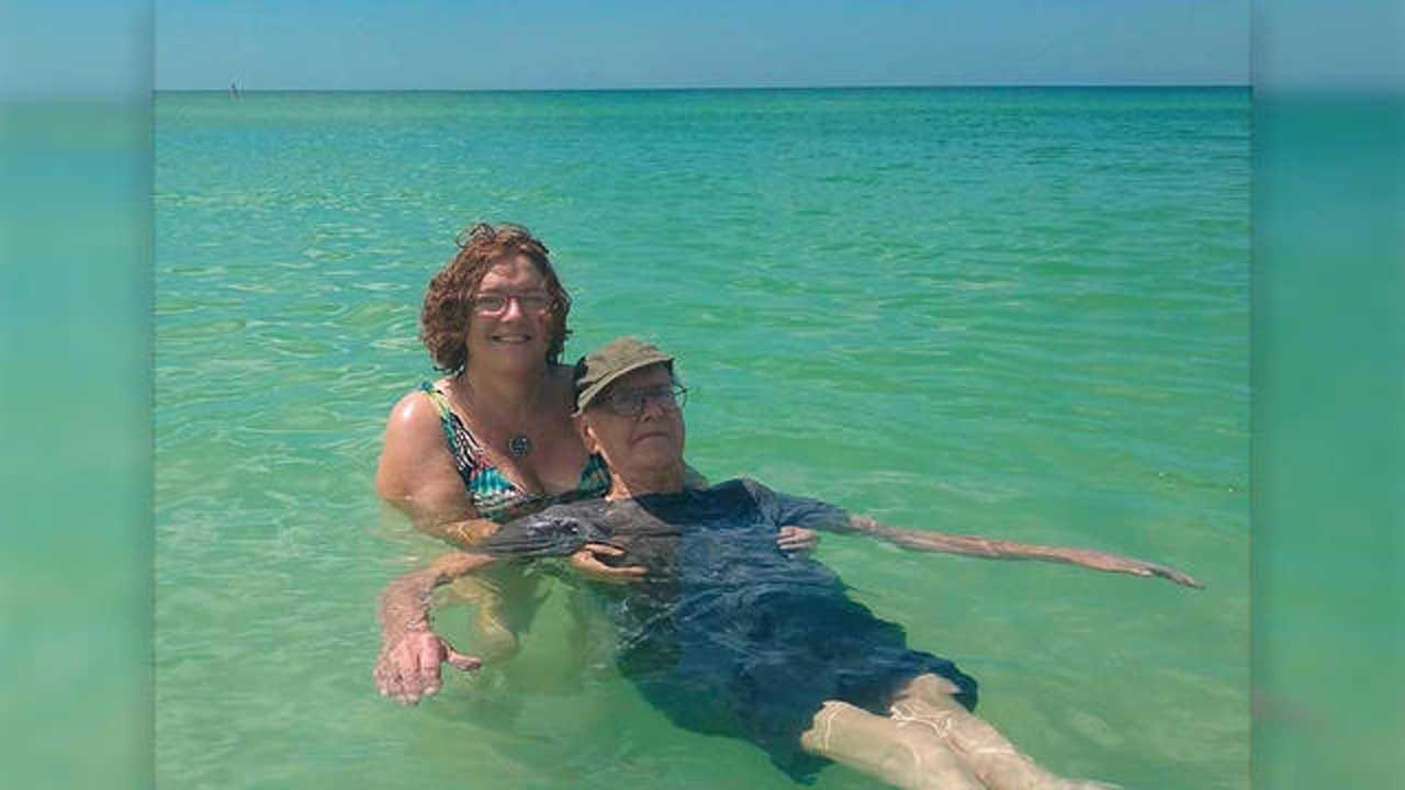 93-Year-Old Man's Birthday Wish Of Swimming In The Ocean For The First Time Comes True