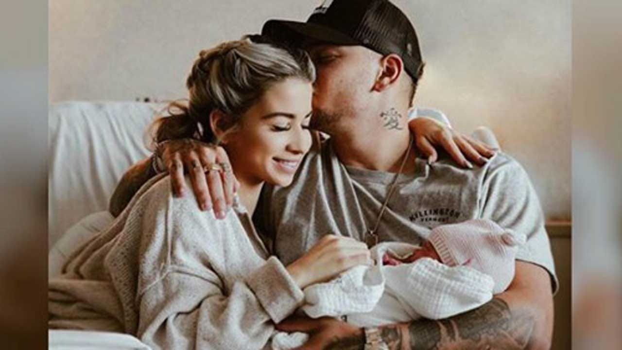 Country Star Kane Brown And Wife Katelyn Welcome First Child