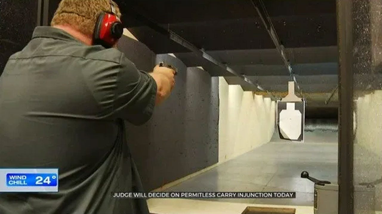 Judge Overrules Permitless Carry Injunction Wednesday