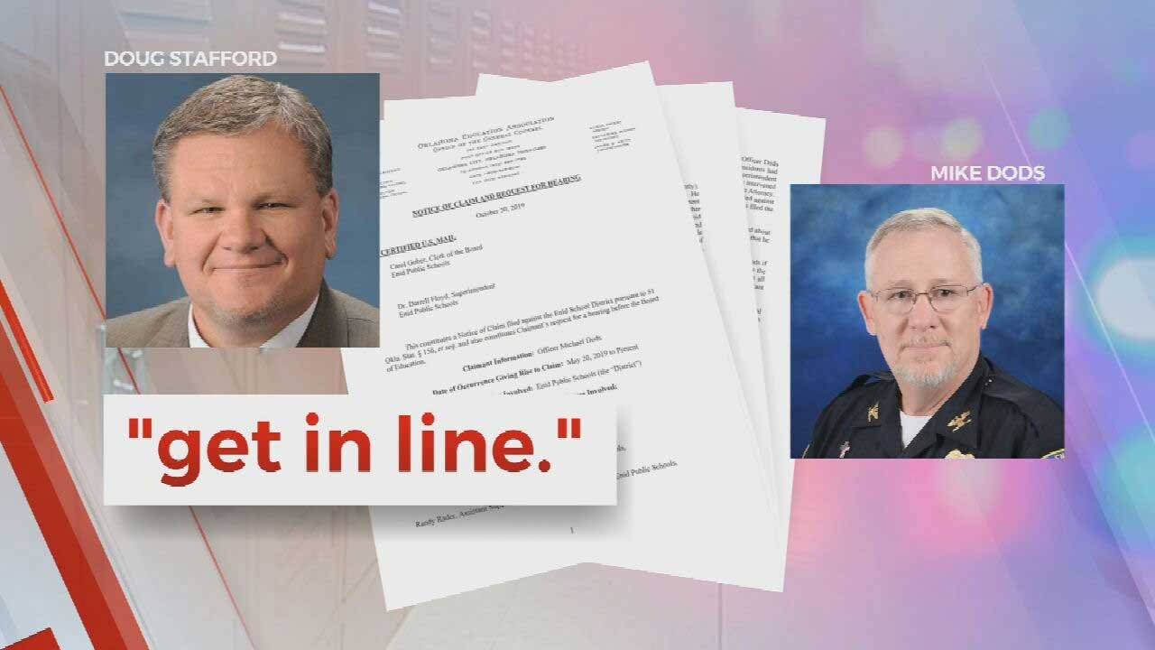 Enid Public Schools Officer Accuses Administration Of Obstructing Justice, Ignoring Safety Threats