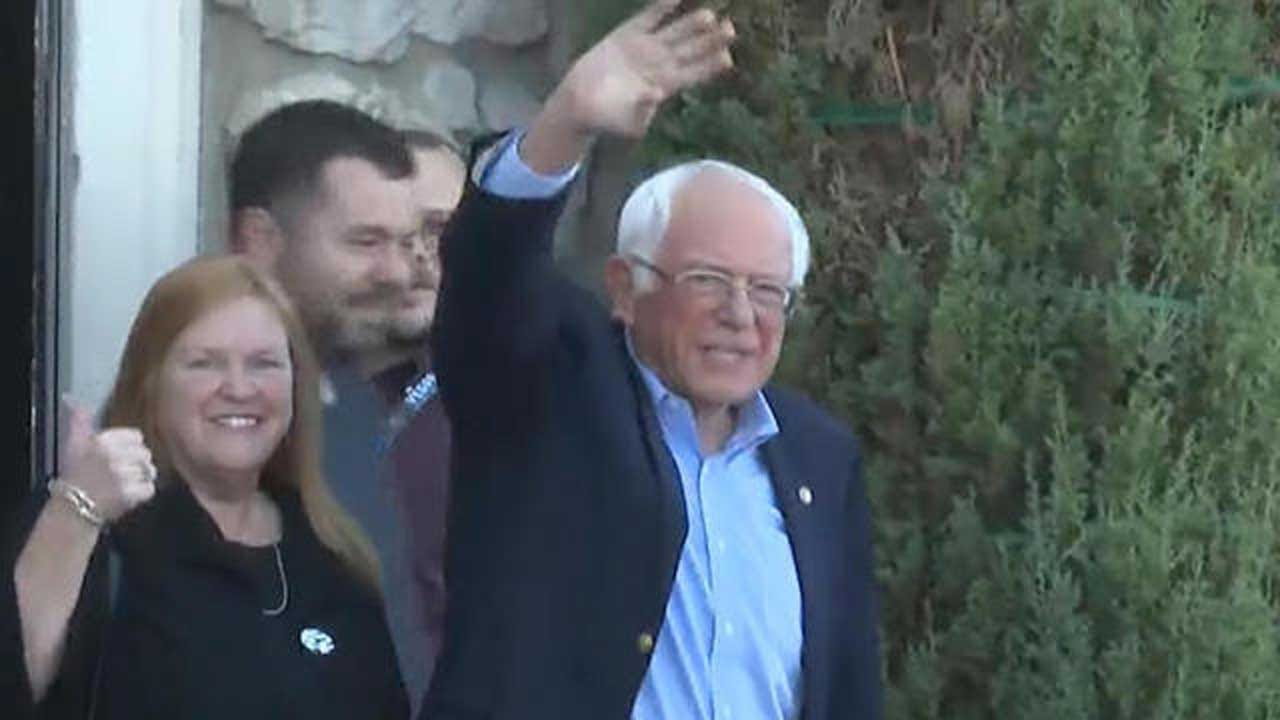Bernie Sanders Discharged From Hospital After Suffering Heart Attack