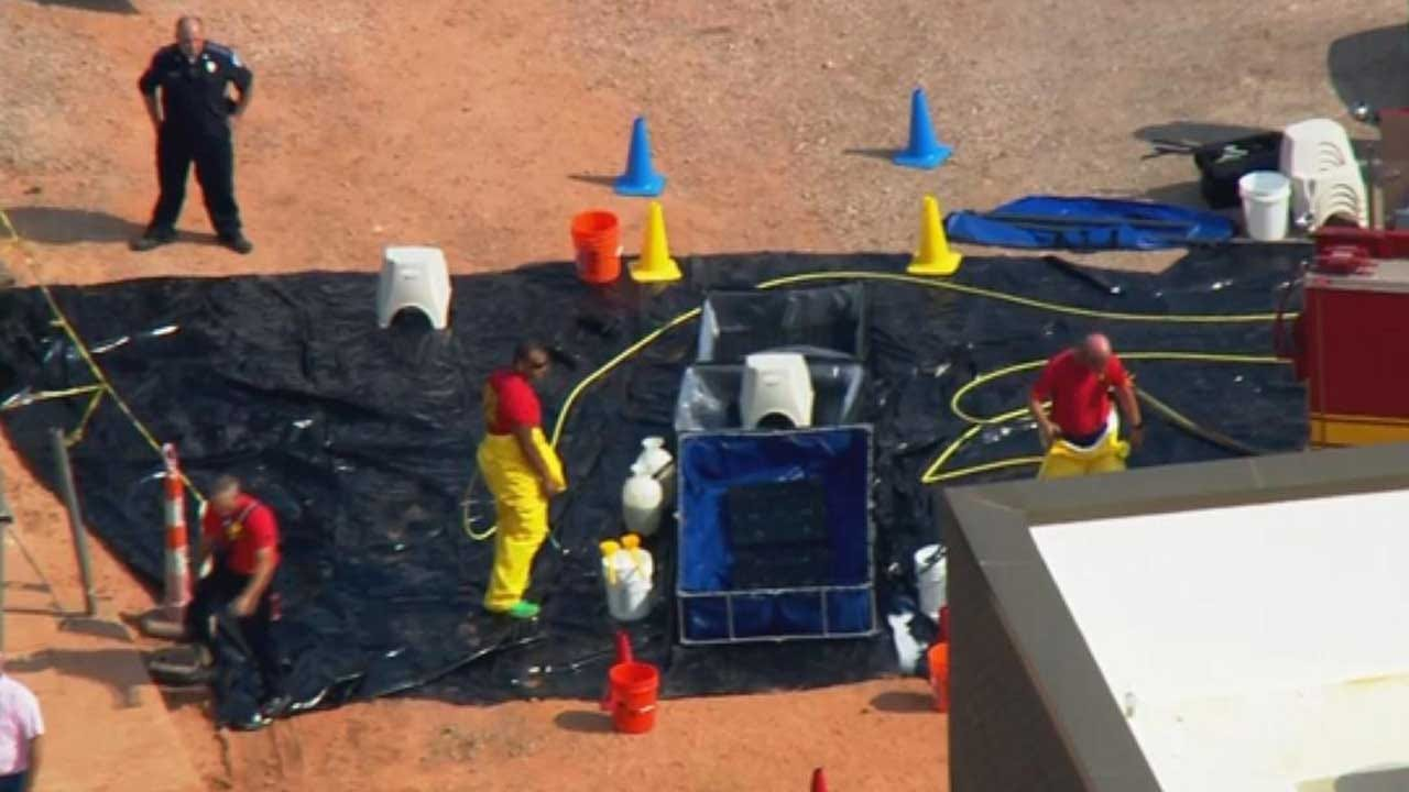 Norman Officials Respond To Chlorine Leak At Water Treatment Facility