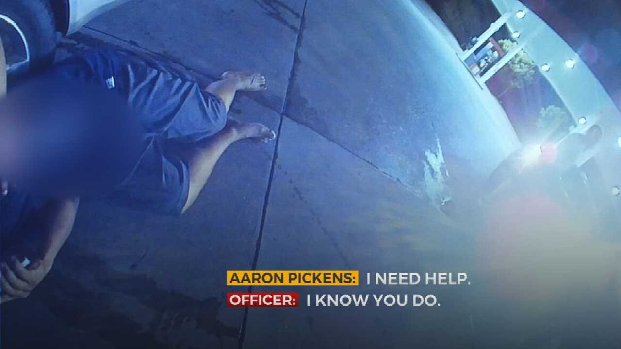 WATCH: Bodycam Video Released Of Moore Stabbing Victim Found At 7-Eleven After Family Bar Fight