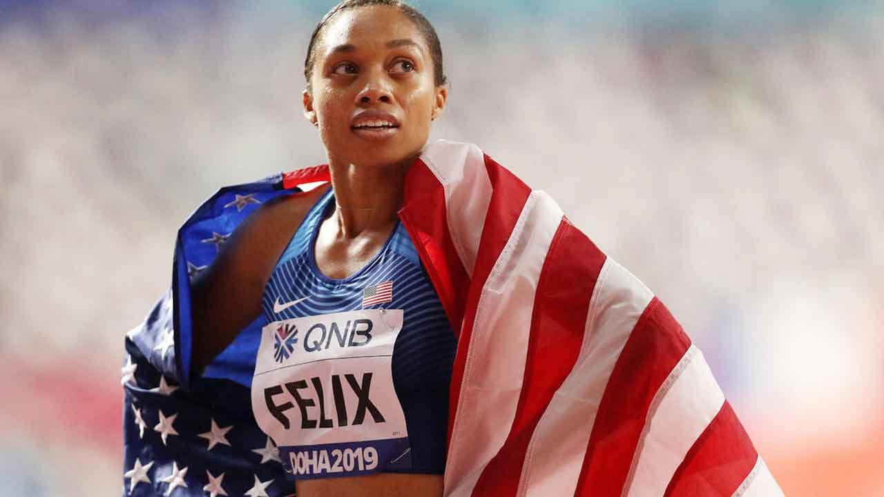 Allyson Felix Breaks Gold Medal Record Previously Held By Usain Bolt – 10 Months After Giving Birth