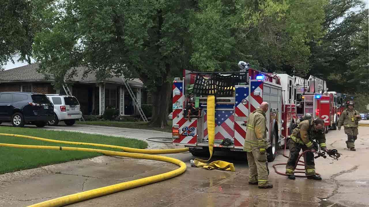 Firefighters Respond To House Fire In The Village; No Injuries Reported