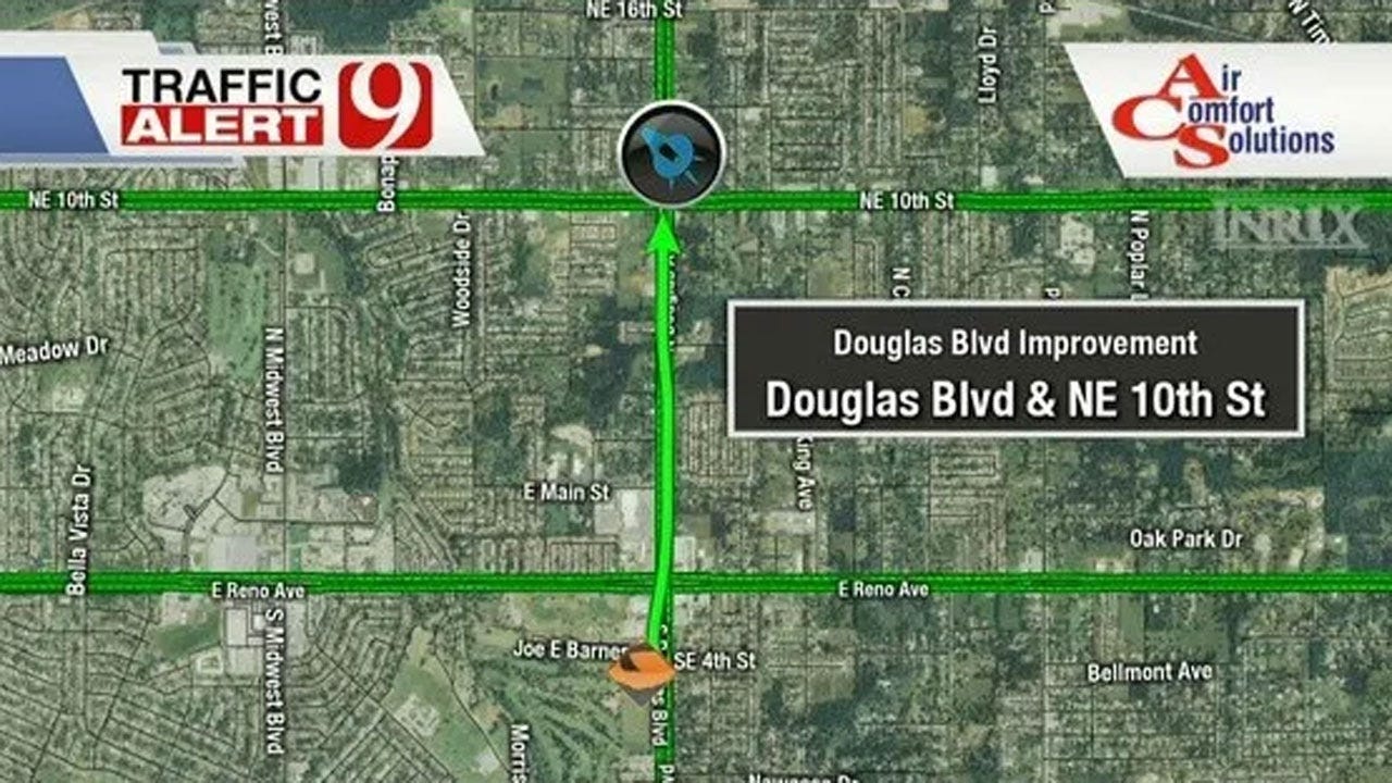 Construction To Begin For Section Of Douglas Boulevard
