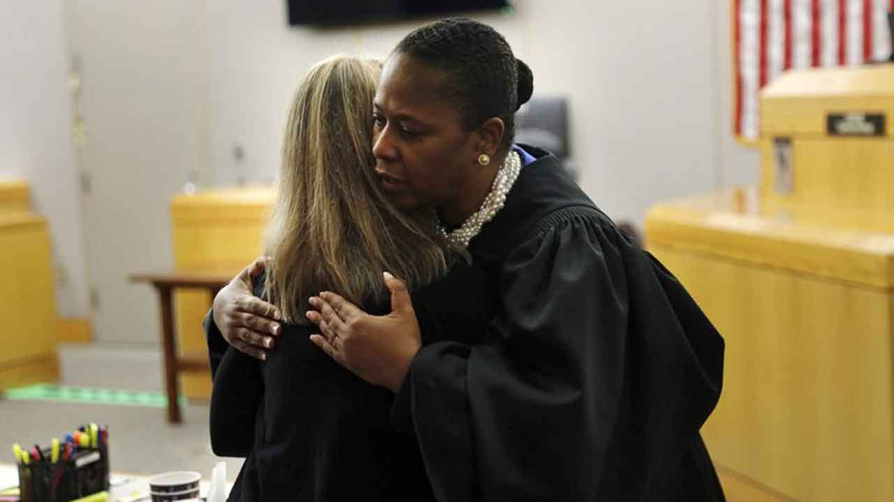 Judge Says She Couldn't Refuse Convicted Ex-Cop A Hug
