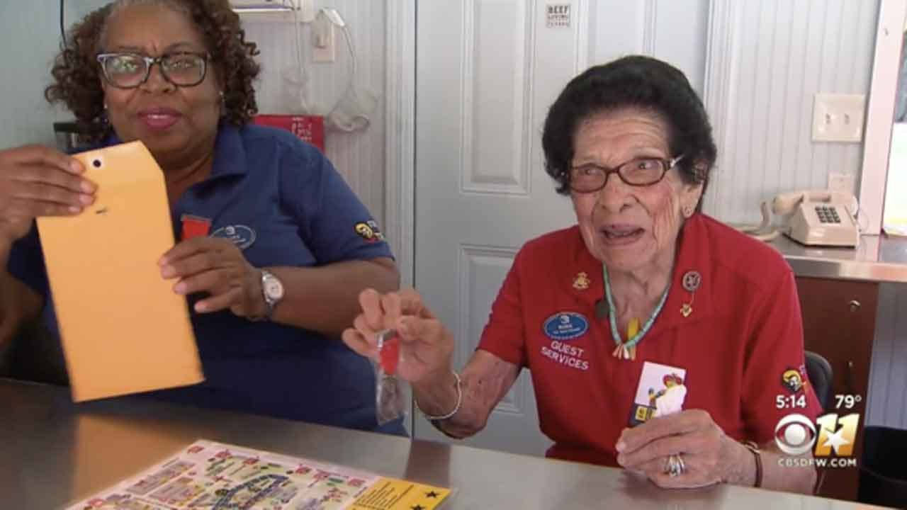 101-Year-Old Woman Still Works At The Texas State Fair Five Days A Week