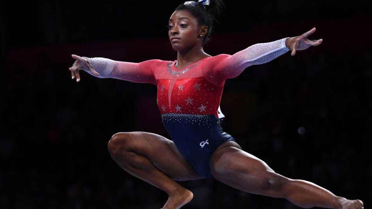 Simone Biles Wins Record-Breaking 21st Medal At World Gymnastics Championships