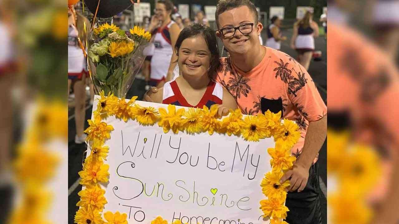 Teen With Down Syndrome Goes Viral For His Homecoming 'Proposal'