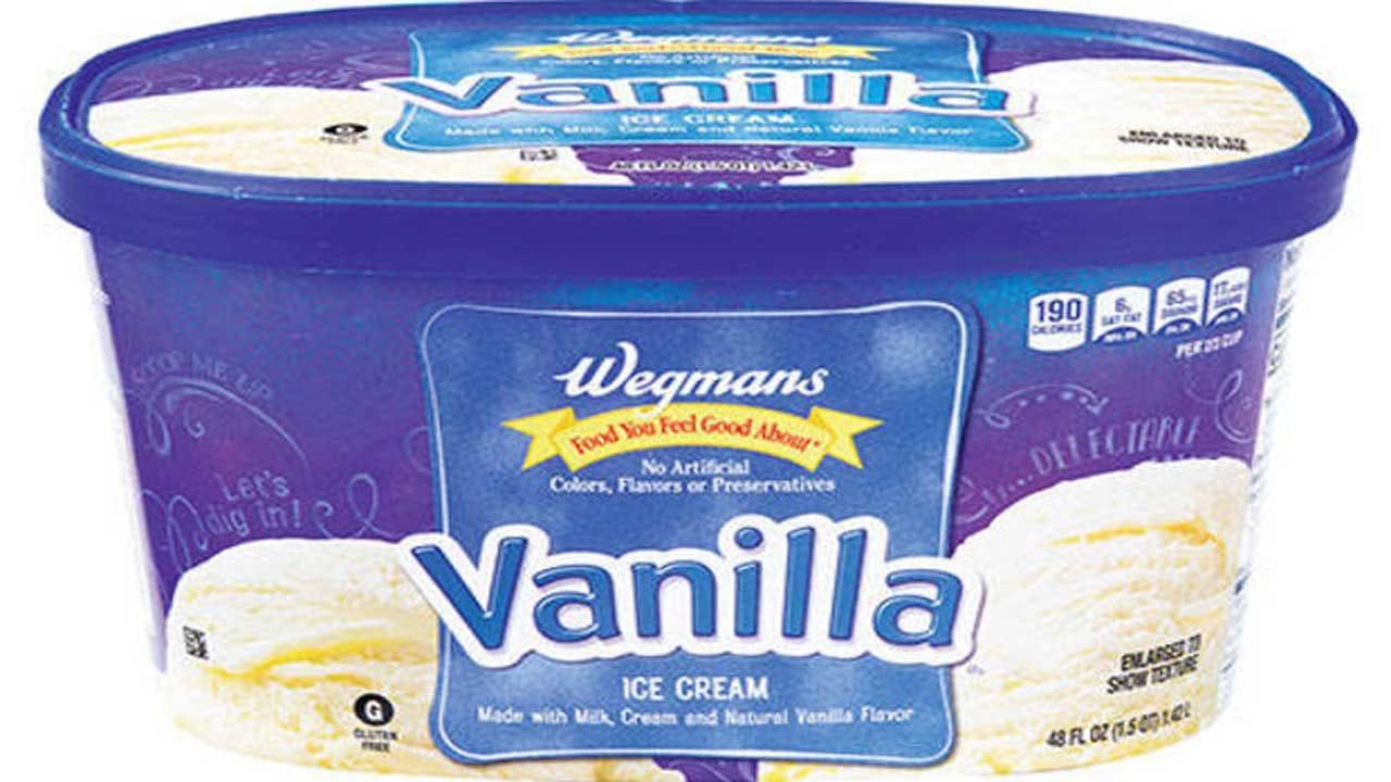 Wegmans Sued For Vanilla Ice Cream With No Vanilla