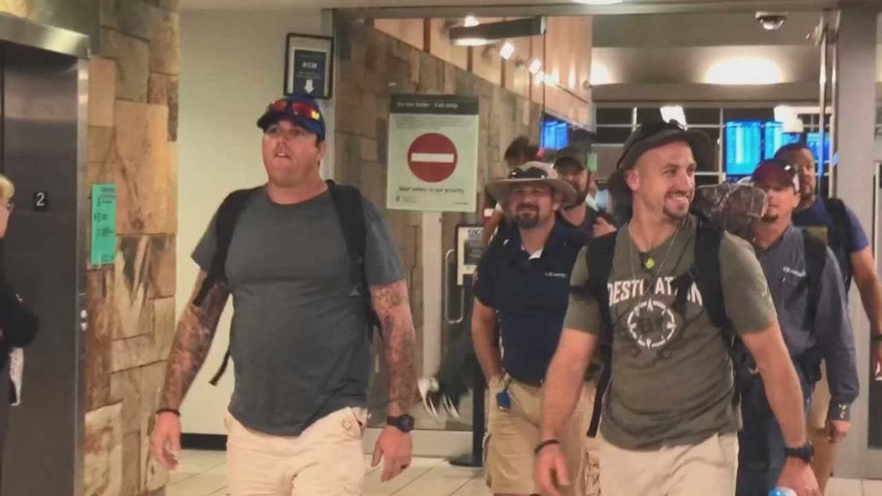 Oklahoma Linemen Return Home After Helping To Bring Electricity To Guatemalan Village