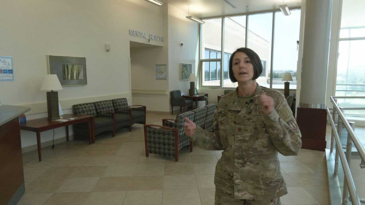 Tinker AFB Officials Address Increase In Suicide Rates