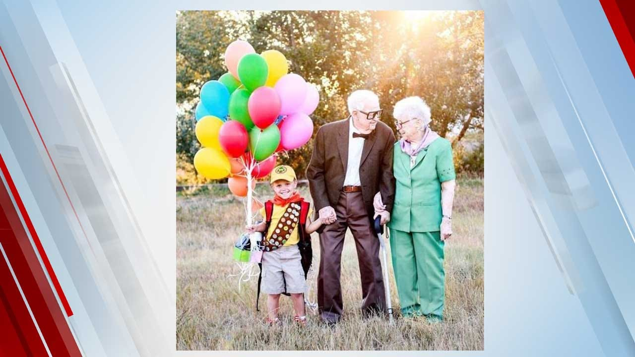 5-Year-Old Boy's 'Up' Photoshoot With 90-Year-Old Great-Grandparents Goes Viral