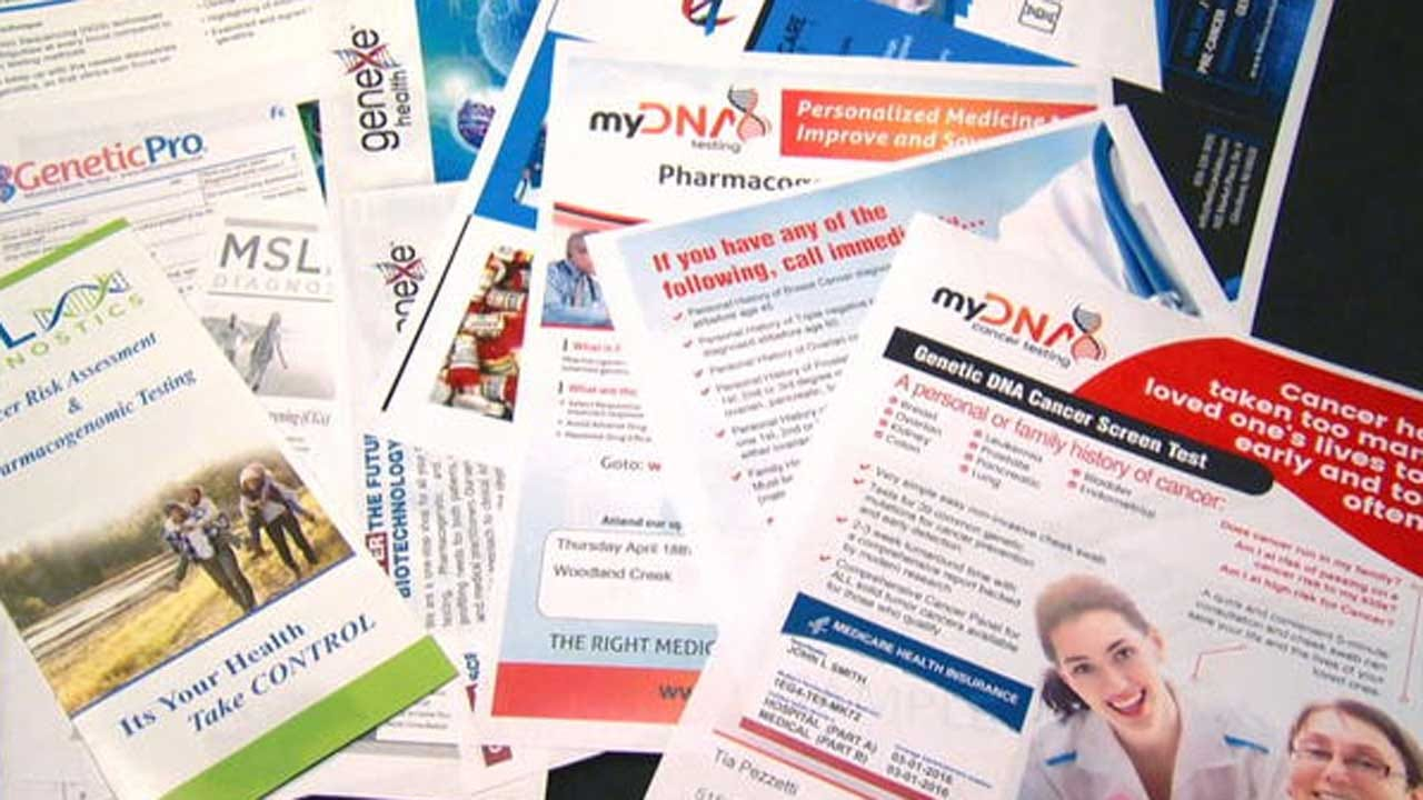 Genetic Testing Scam Preys On Seniors' Cancer Fears, May Be Costing Taxpayers Millions