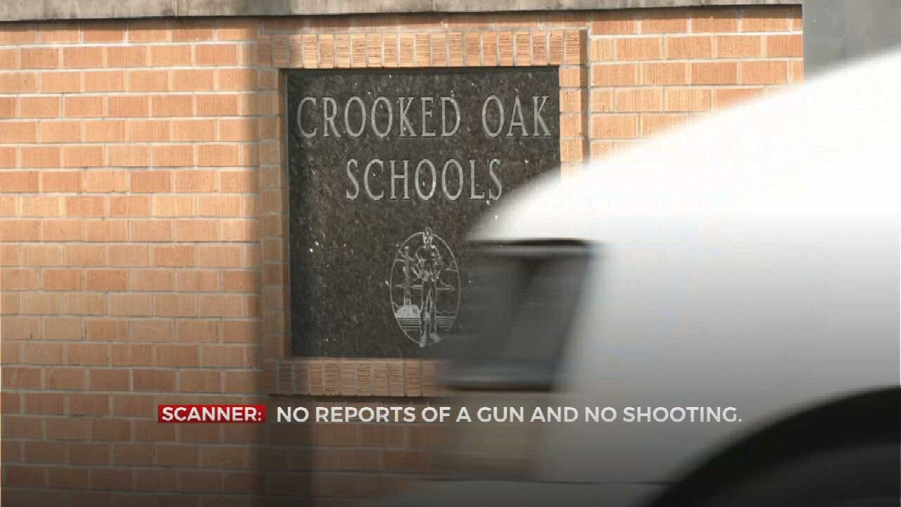 Lockdown At Crooked Oak School In OKC Turns Out To Be False Alarm