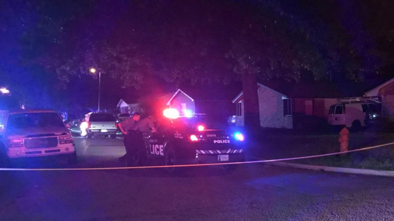 OKC Police Search For Suspect After 1 Injured In Shooting