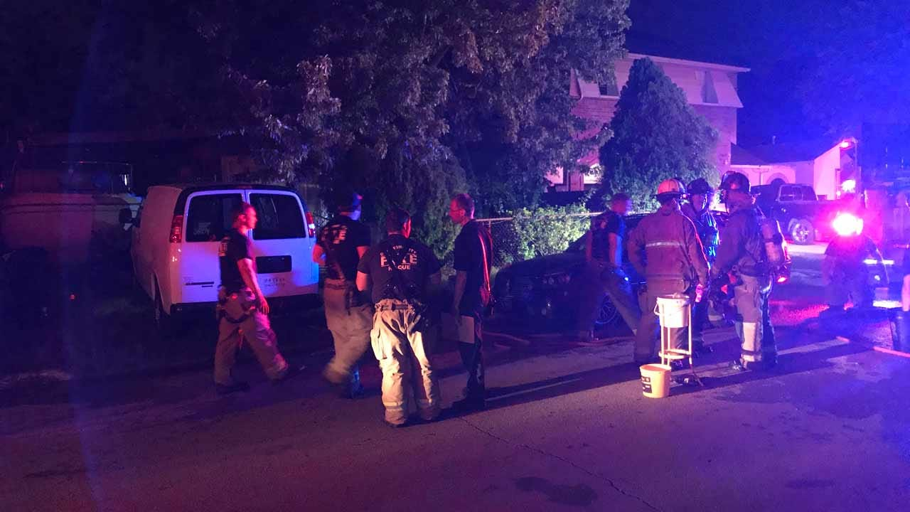 OKC Fire Department Reports No Injuries After Overnight House Fire