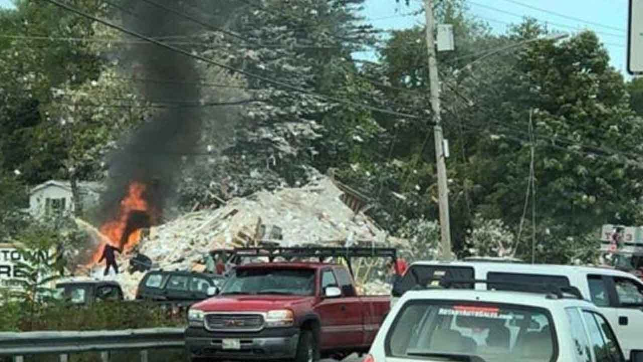 Firefighter Killed In Building Explosion In Maine