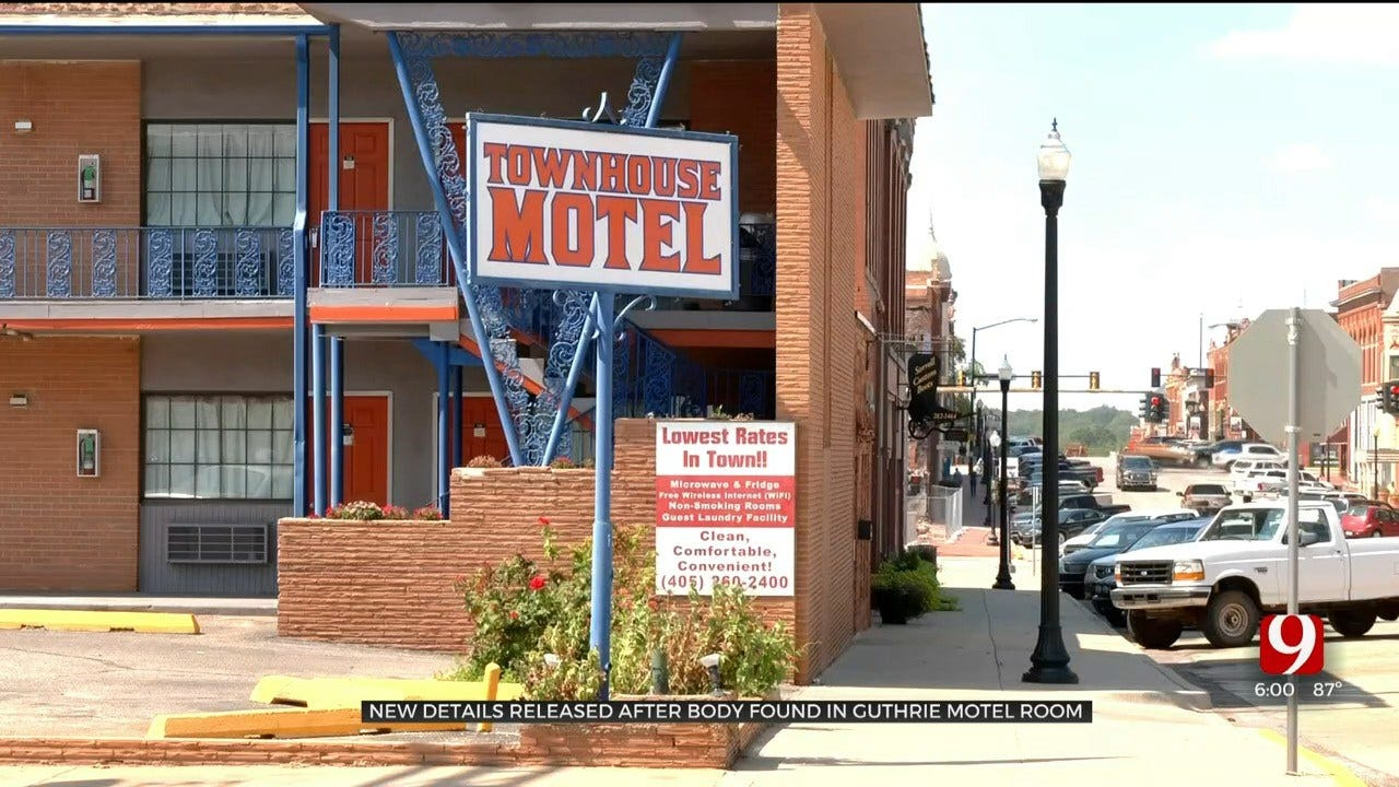 Details Revealed After Body Discovered In Guthrie Motel Room