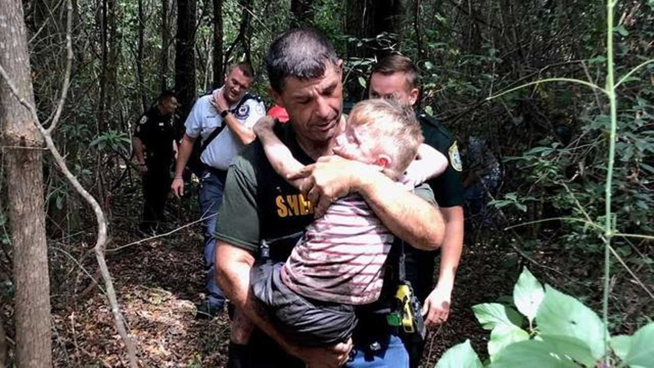 Sheriff's Hounds Find Toddler With Autism In 30 Minutes