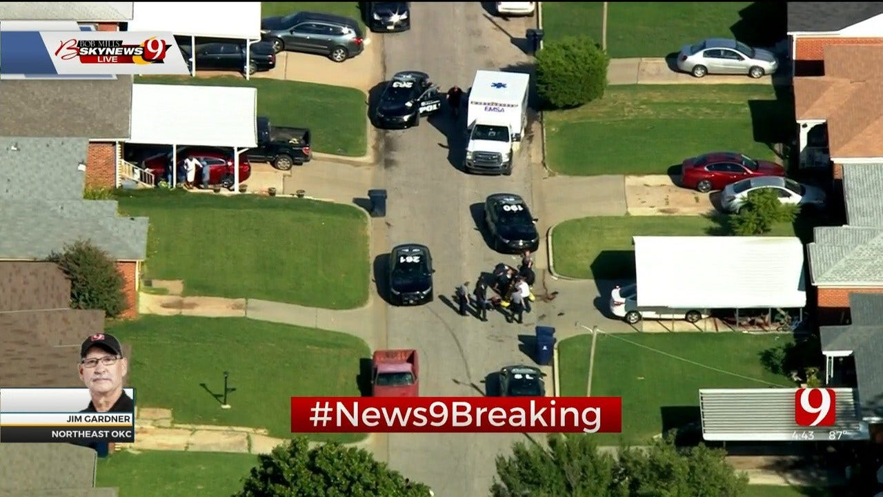 1 Injured, 2 Detained After Shooting In NE OKC