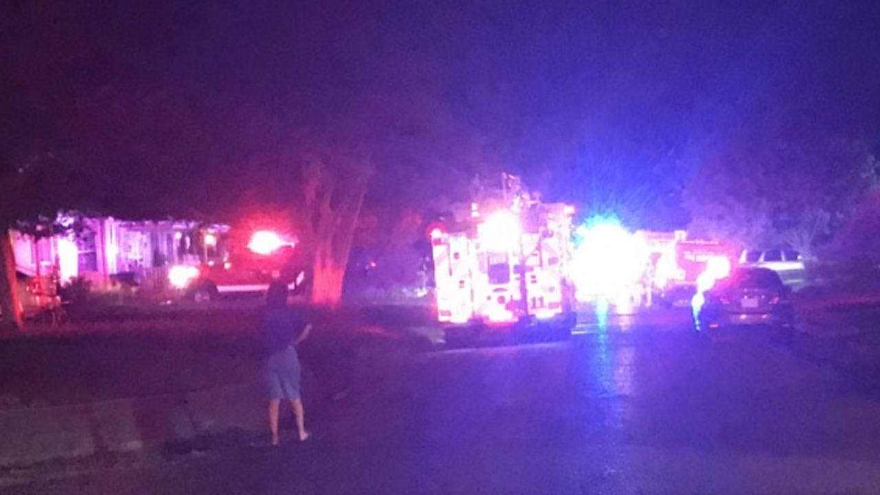 5 Escape Overnight NW Oklahoma City House Fire