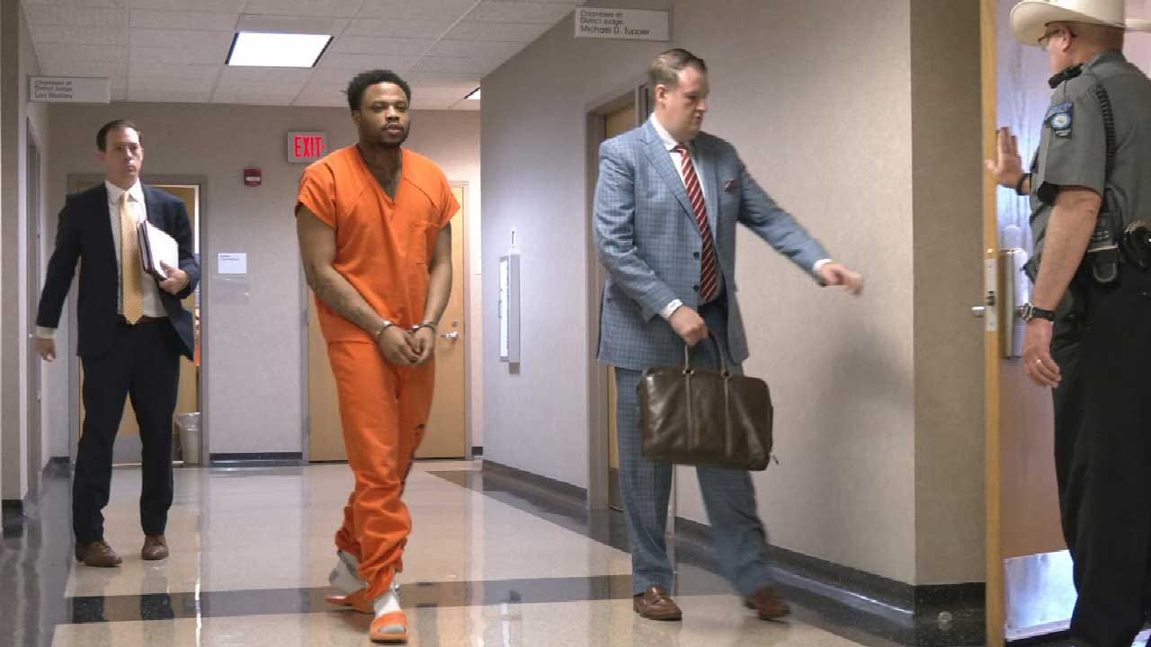 Accused Norman Gang Leader Appears In Court, Maintains Innocence In Statewide Crime Spree
