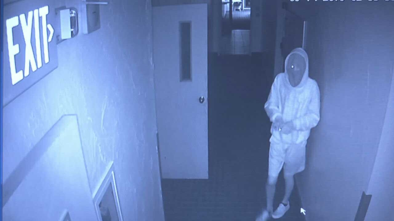Caught On Camera: Suspect Wanted After Burglarizing OKC Child Learning Center