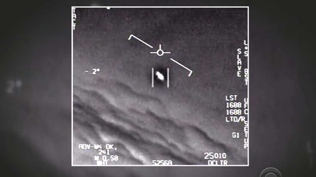 Navy Official Confirms UFO Videos Are Authentic
