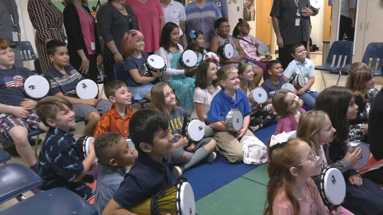 'Civic Center Stars' Donates To OKCPS Music Programs
