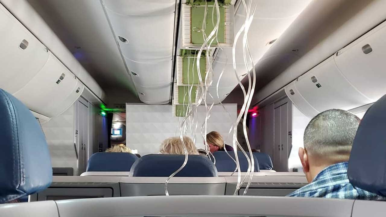 Delta Flight Makes Emergency Landing After Quick 29,000-Foot Descent