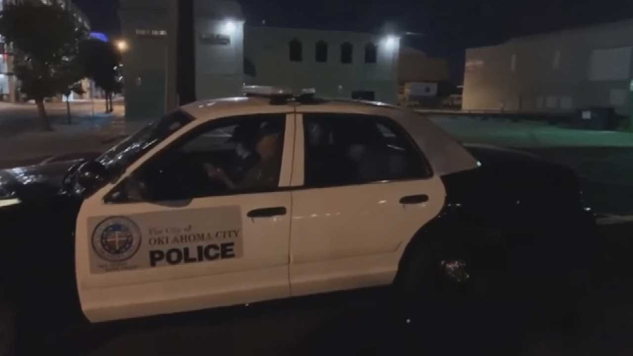 WATCH: OKC Police Officer Caught Apparently Sleeping On The Job
