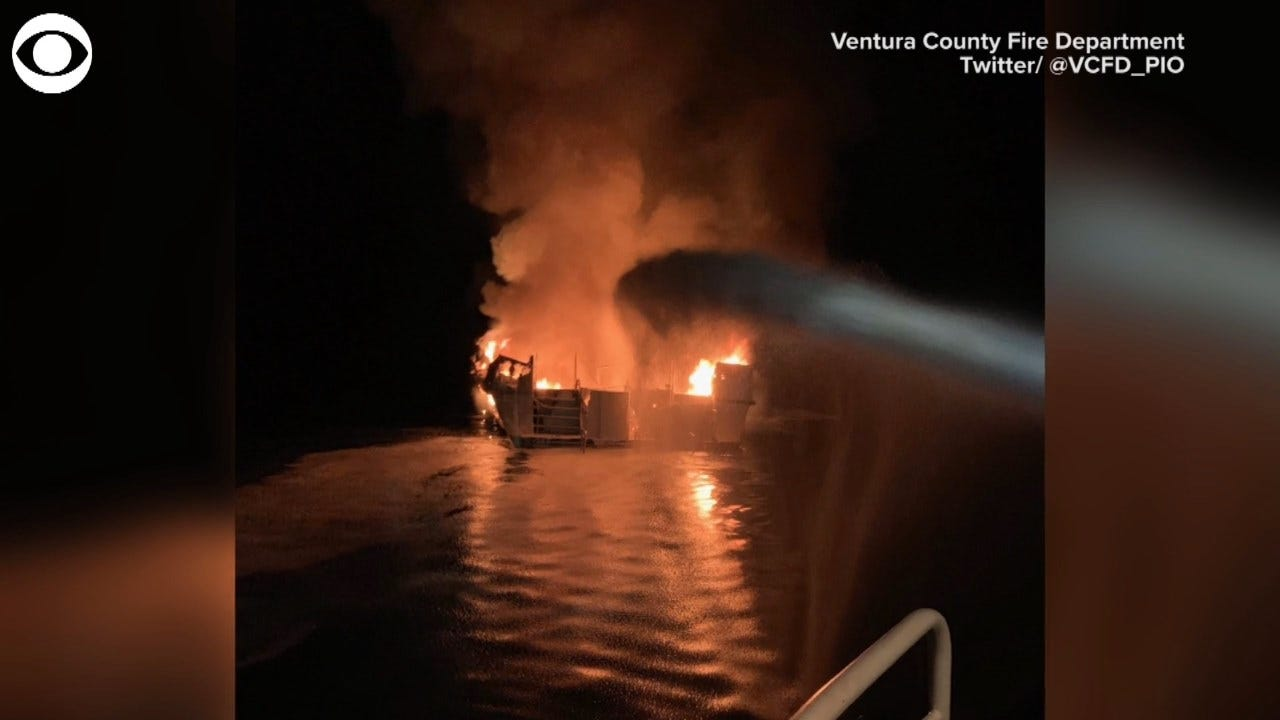 33 Bodies From California Boat Fire Recovered, 1 Missing
