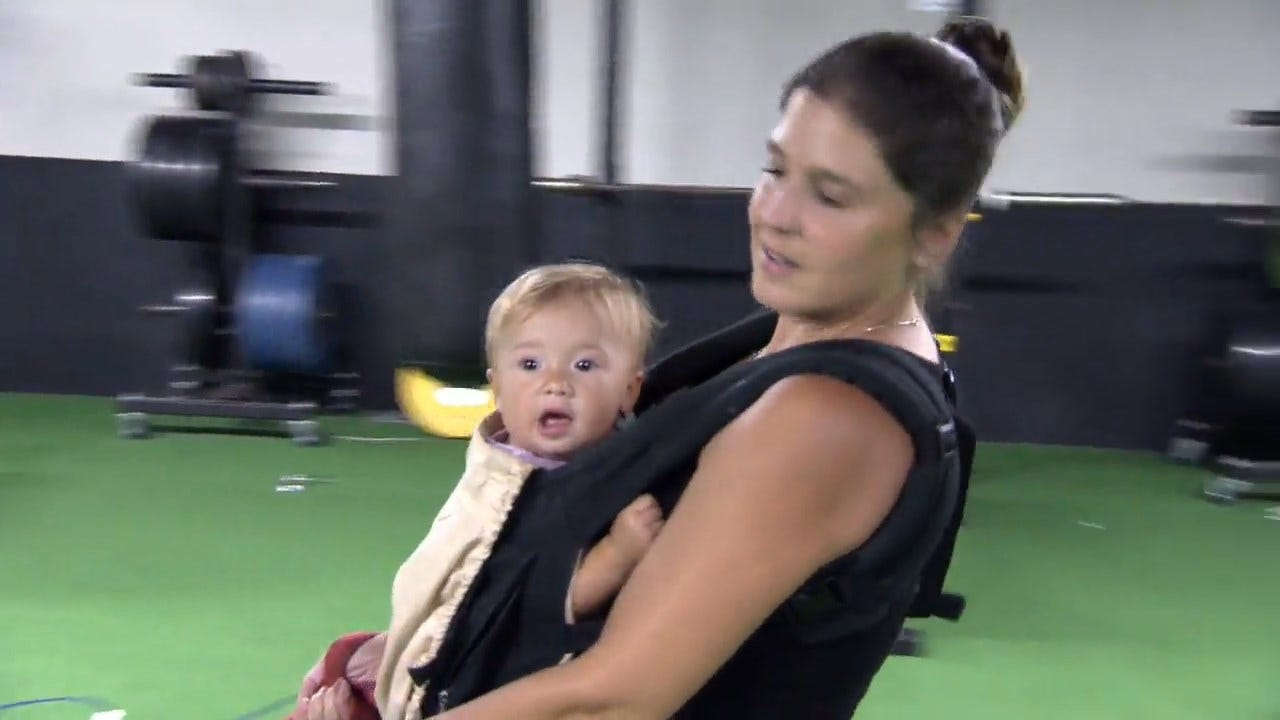 More Parents Working Out And Going To Work With Babies On Board