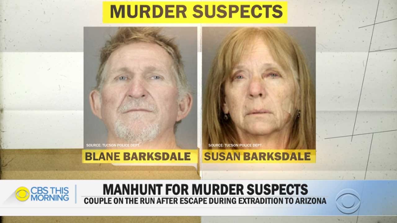 New Photos Show Married Murder Suspects Who Escaped Prison Van