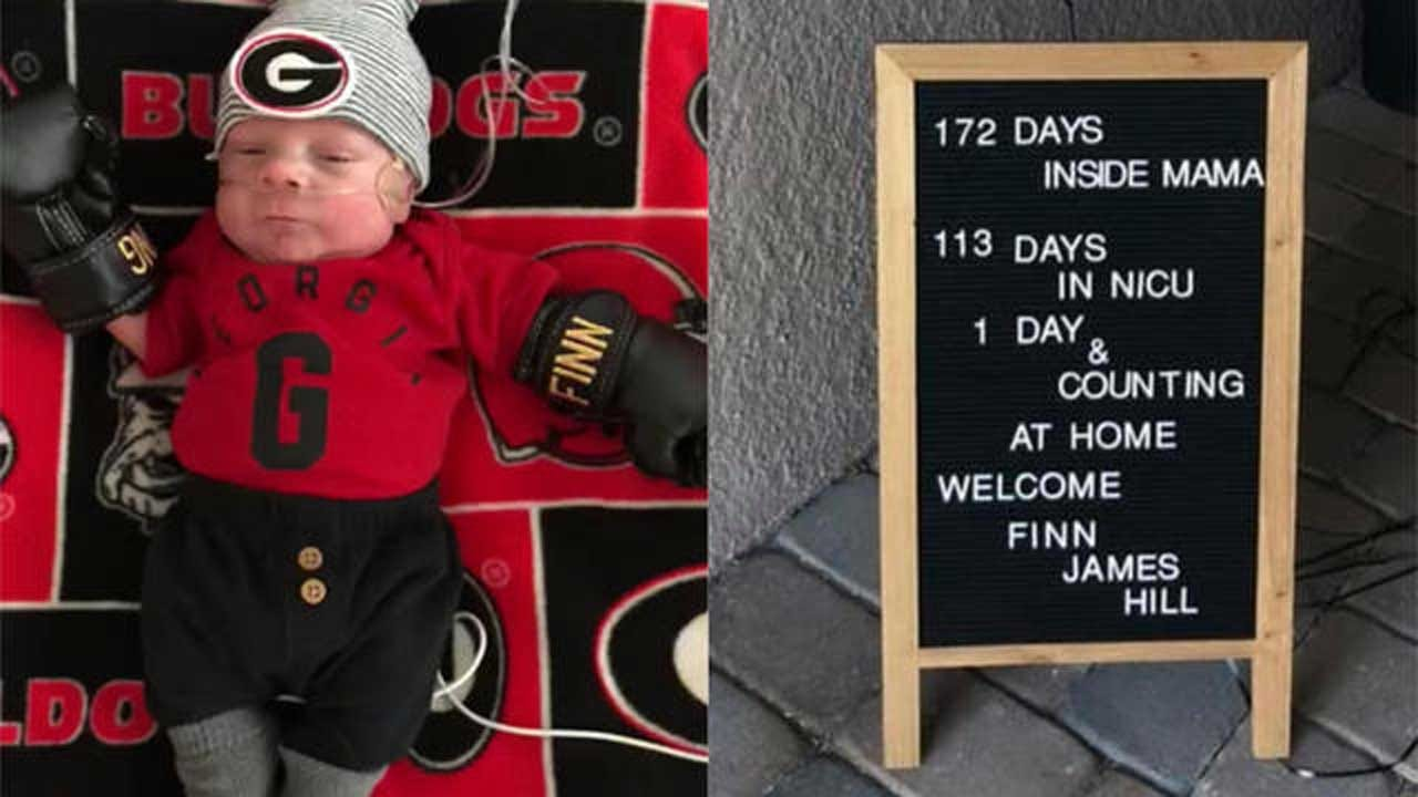 1-Pound Baby Known As 'Fighting Finn' Is Finally Home After 113 Days In The NICU