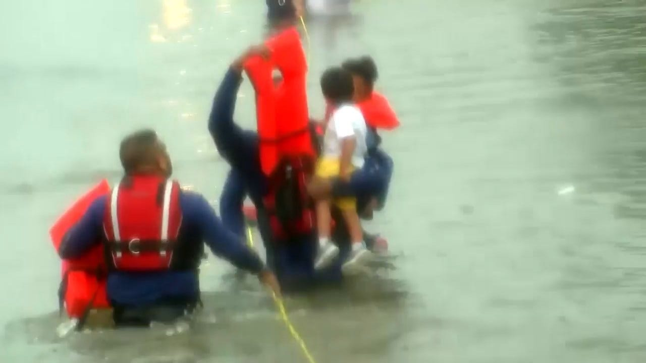 Imelda Leaves 3 Dead In Texas, Others Stranded And Trapped