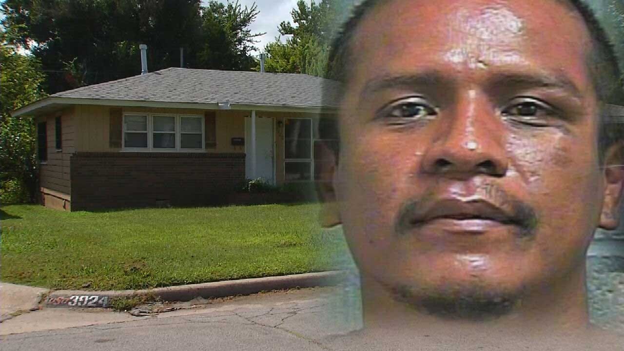 OKC Resident Finds Repeat Home Intruder Sleeping In Bed, Holds Him On Ground For Police