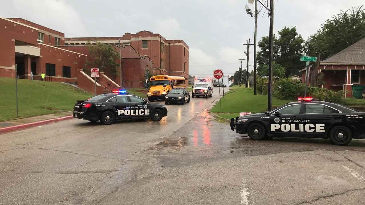 13-Year-Old Struck By OKC Patrol Car Near Wheeler Elementary