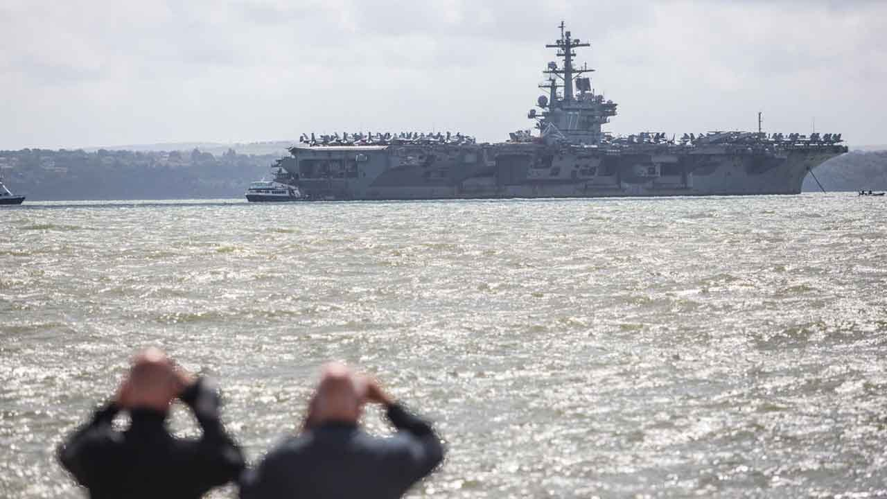 Navy Confirms String Of Recent Suicides By USS George H.W. Bush Sailors