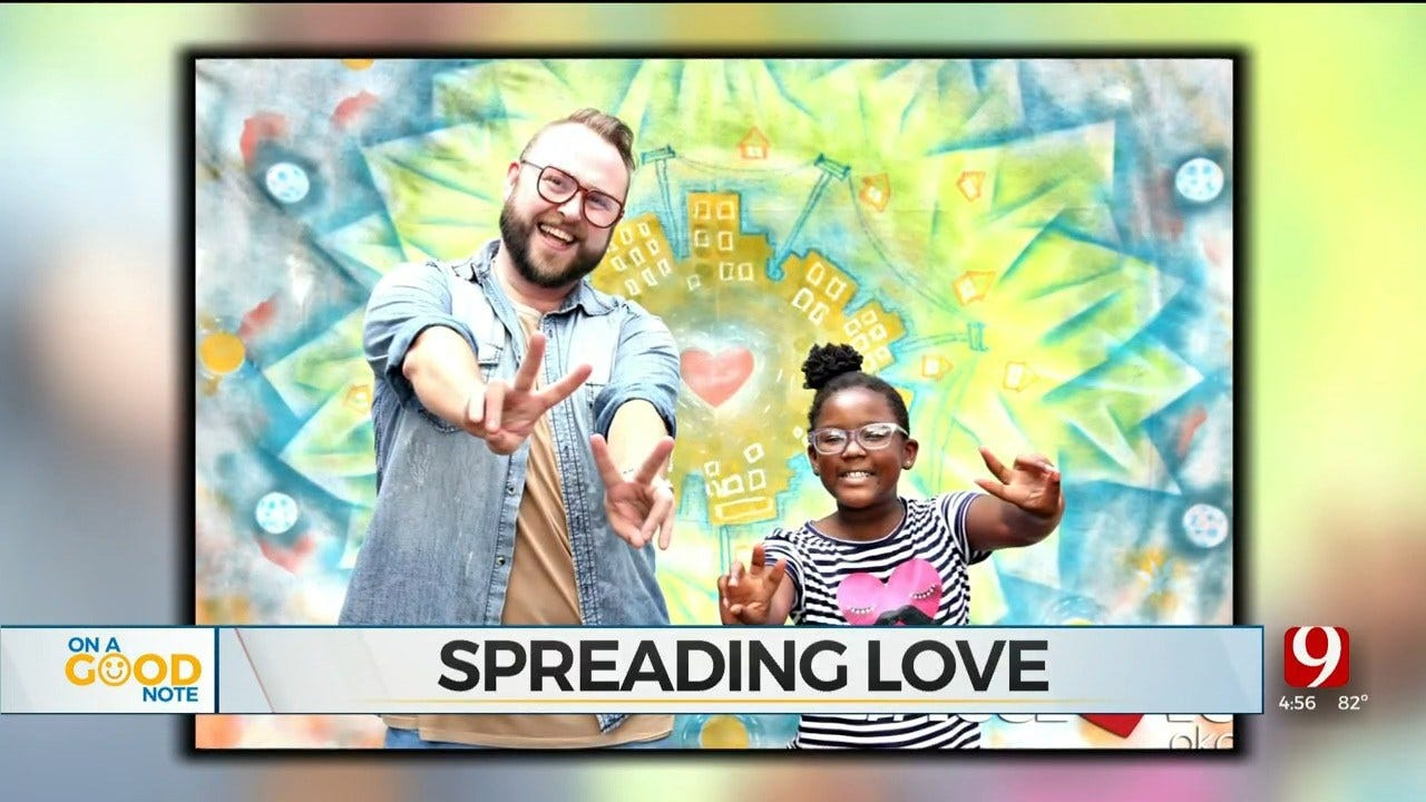 OKC Non-Profit Holds 'Hug A Stranger Photoshoot' Event In Hopes To Spread Kindness