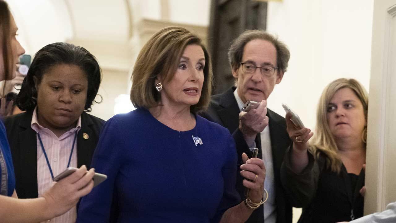 Pelosi Announces Formal Trump Impeachment Inquiry