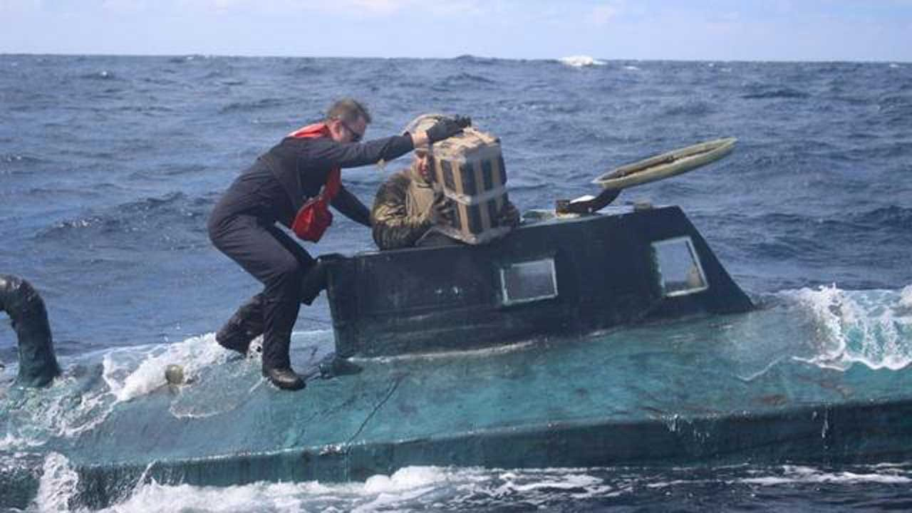 Submarine Carrying $165 Million In Cocaine Captured By Coast Guard
