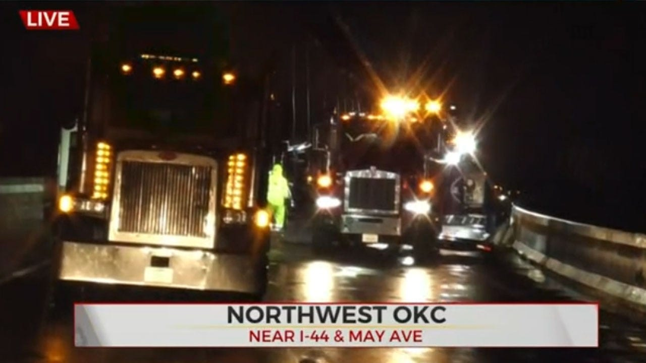 WB I-44 Ramp Back Open At 39th Expressway