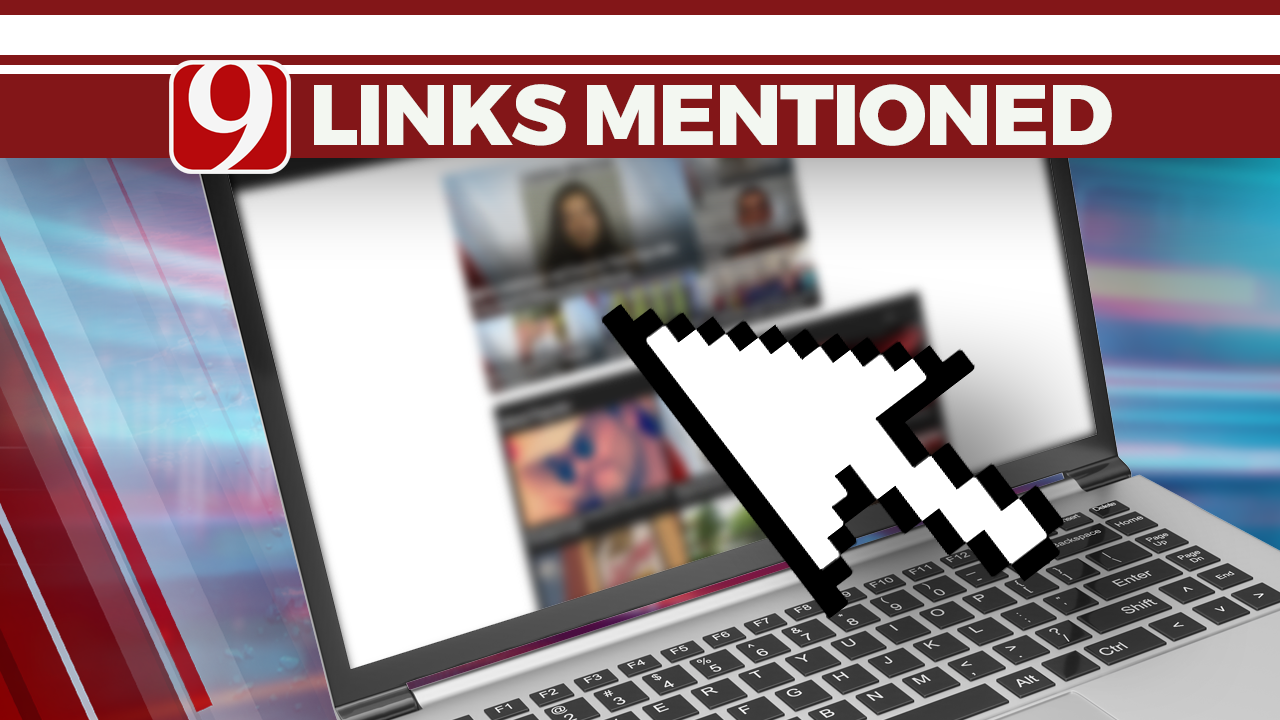 Links Mentioned On News 9 For Week Of 11-25-19