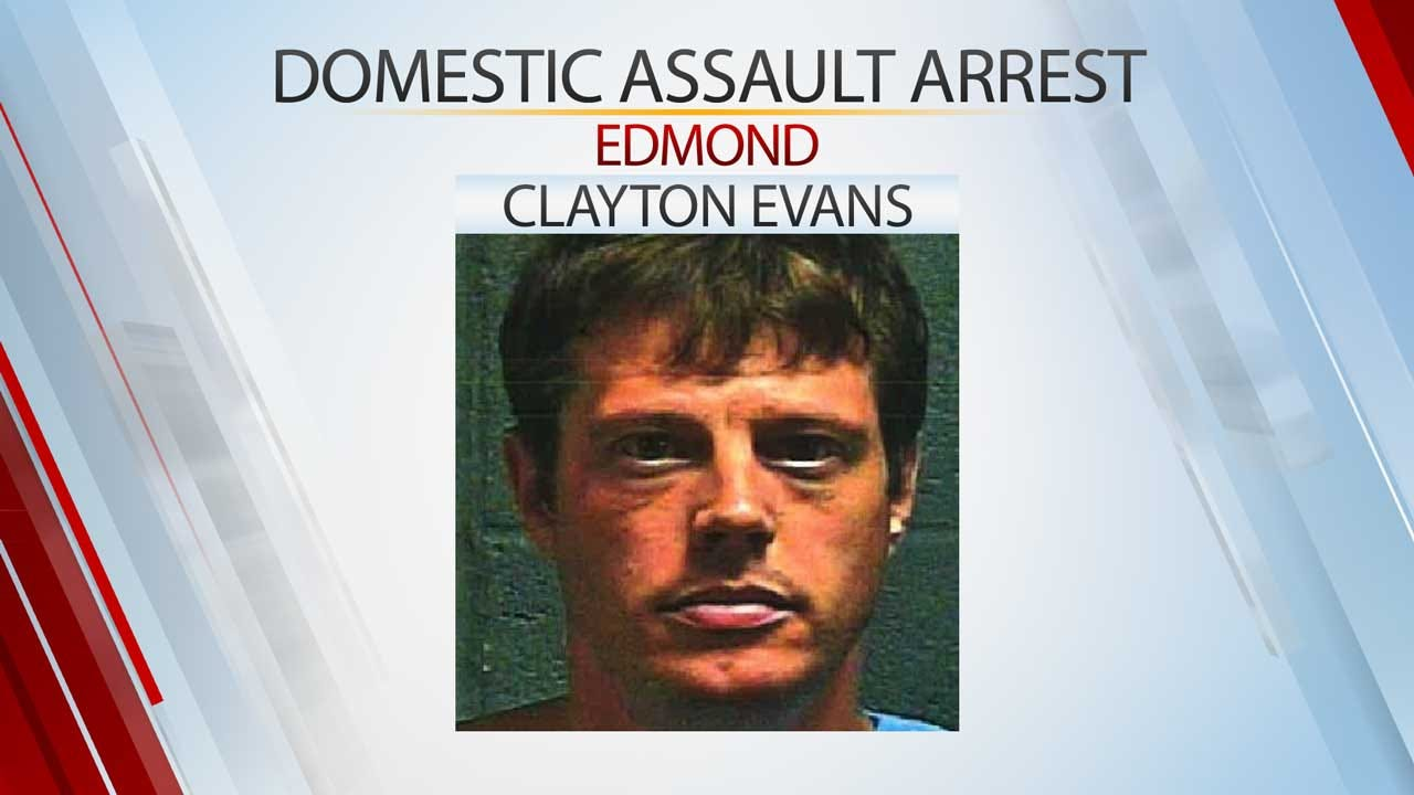 OKC Firefighter Accused Of Domestic Assault, Running Naked On Edmond Street